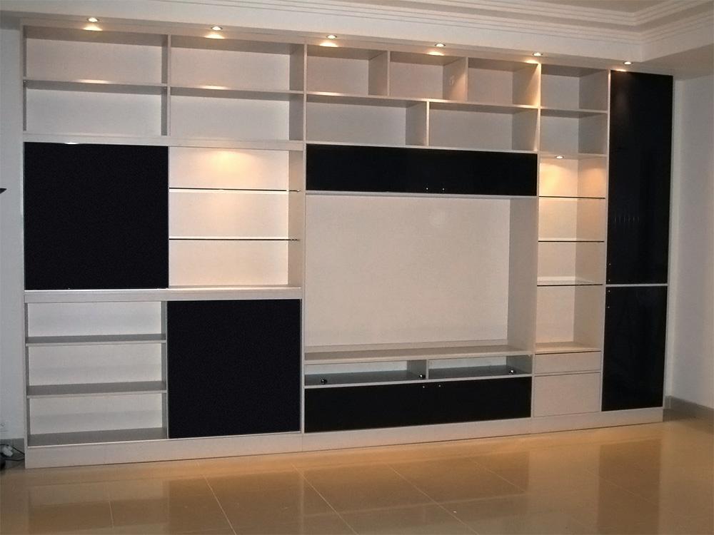 Meuble mural – Télévision – HiFi – Rangement